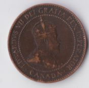 Canada, Edward VII, One Cent 1903, F, WB3466